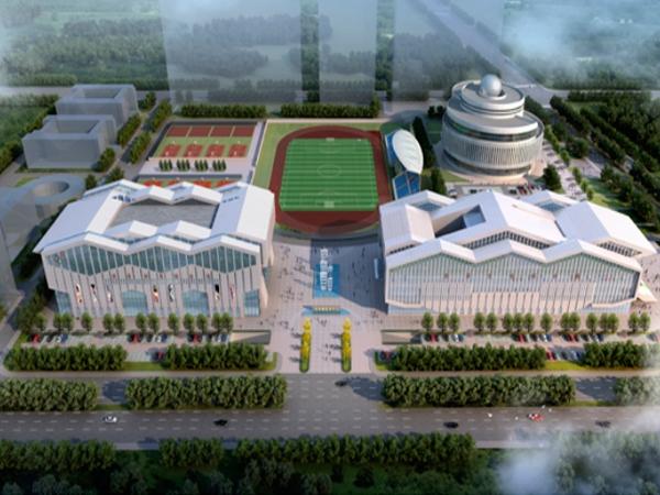 洪泽县文化综合馆、体育综合馆、 科技智慧展览馆工程