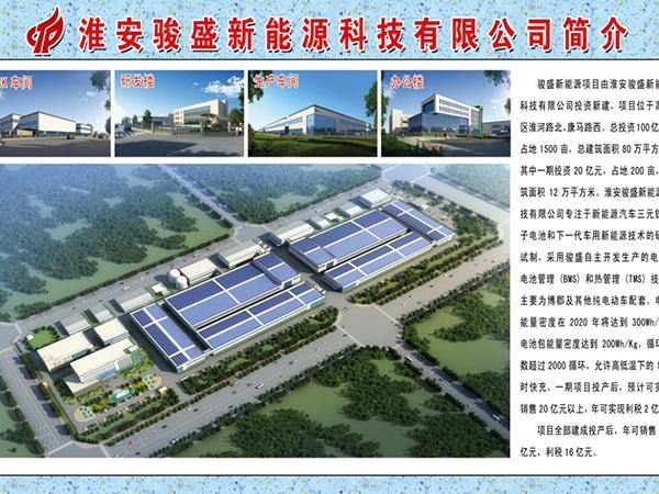 淮安骏盛新能源科技有限公司建设消防工程