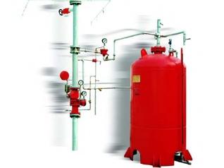 常熟ZPS32系列闭式泡沫-水喷淋联用自动灭火装置