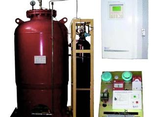 常熟储罐预混型合成泡沫喷雾自动灭火系统