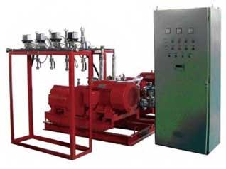 高压泵式细水雾灭火系统