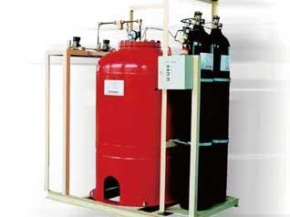 太仓中压储瓶式细水雾灭火系统
